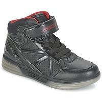 鞋子 男孩 高帮鞋 Geox 健乐士 ARGONAT BOY 黑色 / 红色