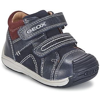 鞋子 男孩 高帮鞋 Geox 健乐士 B TOLEDO BOY 蓝色
