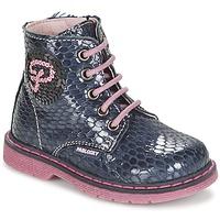 鞋子 女孩 短筒靴 Pablosky CHAVISKA 海蓝色