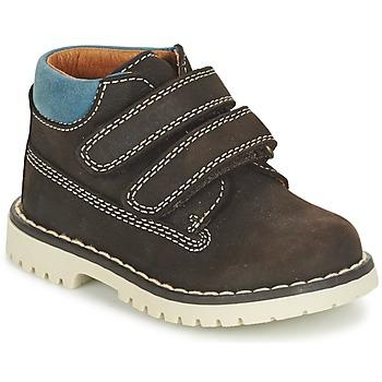 鞋子 男孩 短筒靴 Pablosky ESBATIATE 棕色