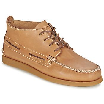 鞋子 男士 短筒靴 Sperry Top-Sider A/O WEDGE CHUKKA LEATHER 米色