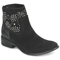 鞋子 女士 短靴 Meline VELOURS STARTER 黑色