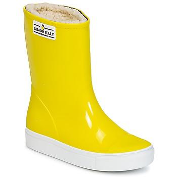 鞋子 女孩 雨靴 Lemon Jelly FAIRY 黄色
