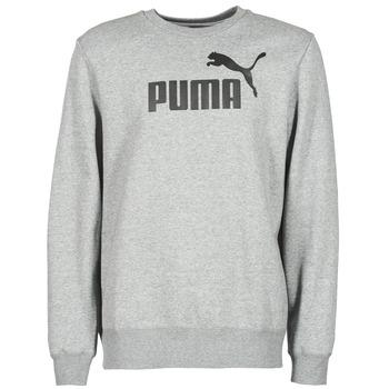 衣服 男士 卫衣 Puma 彪马 ESS CREW SWEAT FL 灰色