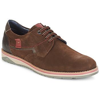 鞋子 男士 德比 Fluchos 富乐驰 BRAD 棕色