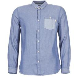 衣服 男士 长袖衬衫 Tom Tailor 汤姆裁缝 INIDULLE 蓝色