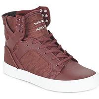 鞋子 高帮鞋 Supra SKYTOP 波尔多红