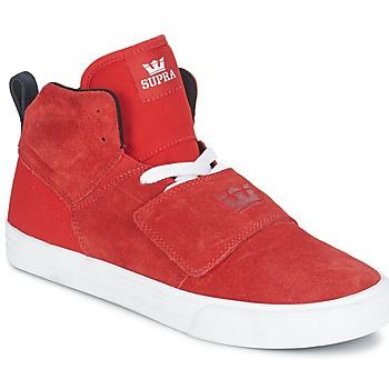 鞋子 男士 高帮鞋 Supra ROCK 红色