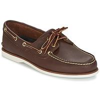 鞋子 男士 船鞋 Timberland 添柏岚 CLASSIC 2 EYE 棕色