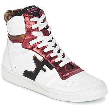 鞋子 女士 高帮鞋 Serafini SAN DIEGO 白色 / 红色