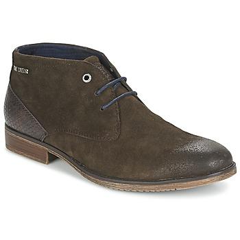 鞋子 男士 短筒靴 Tom Tailor 汤姆裁缝 REVOUSTI 棕色