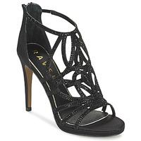 鞋子 女士 凉鞋 Ravel BLANCO 黑色 /  satin
