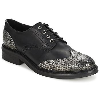 鞋子 女士 德比 Koah LESTER 黑色 / 银灰色