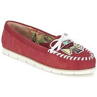 鞋子 女士 皮便鞋 Miss L'Fire YHUNDERBIRD 红色
