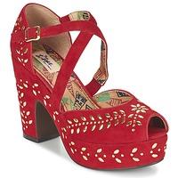 鞋子 女士 凉鞋 Miss L'Fire SELINA 红色