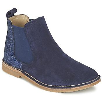 鞋子 女孩 短筒靴 Citrouille et Compagnie FIGOULI 蓝色