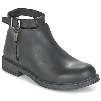 鞋子 女孩 短筒靴 Citrouille et Compagnie FRIZZY 黑色