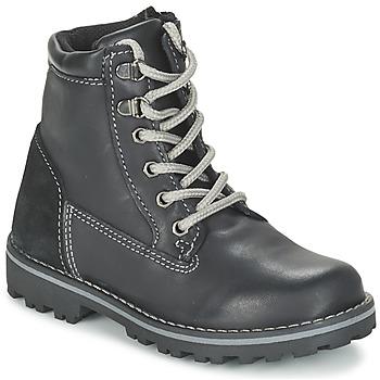 鞋子 男孩 短筒靴 Citrouille et Compagnie FACOSA 黑色