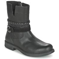 鞋子 女孩 短筒靴 Citrouille et Compagnie FURAMO 黑色