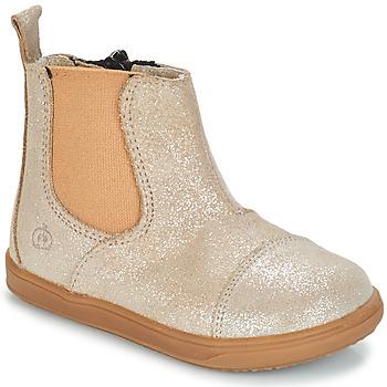 鞋子 女孩 短筒靴 Citrouille et Compagnie FEPOL 银灰色