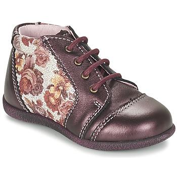 鞋子 女孩 短筒靴 Citrouille et Compagnie FRICOL 紫罗兰