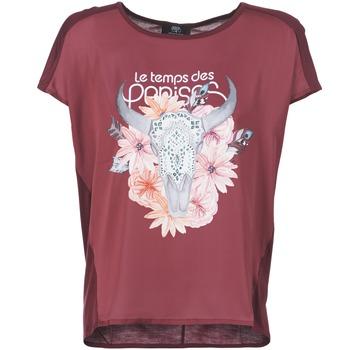 衣服 女士 短袖体恤 Le Temps des Cerises CRANEFLO 波尔多红