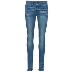 衣服 女士 牛仔铅笔裤 G-Star Raw LYNN MID SKINNY 蓝色