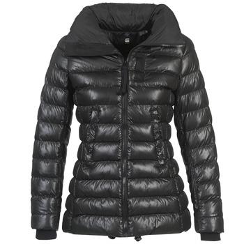 衣服 女士 羽绒服 G-Star Raw WHISTLER SLIM COAT 黑色