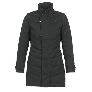衣服 女士 棉衣 G-Star Raw MINOR CLASSIC QLT COAT 黑色