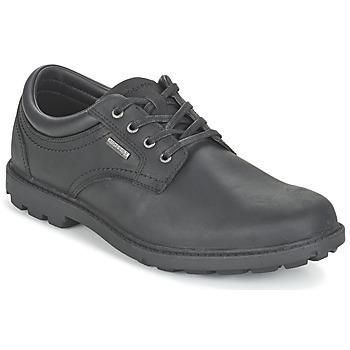 鞋子 男士 德比 Rockport 乐步 RGD BUC WP PLAINTOE 黑色
