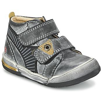 鞋子 男孩 短筒靴 GBB NATHAN 灰色 / 黃色