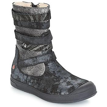 鞋子 女孩 都市靴 GBB NOURIA 黑色 / 金属光泽