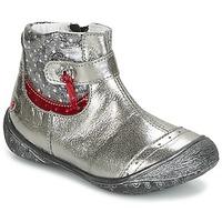 鞋子 女孩 短筒靴 GBB NYMPHE 灰色 / 印花