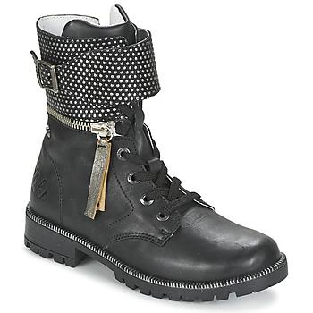 鞋子 女孩 短筒靴 Ikks PEGGY 黑色