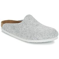 鞋子 女士 洞洞鞋/圆头拖鞋 Birkenstock 勃肯 AMSTERDAM 灰色 / 米色