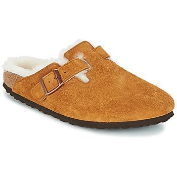 鞋子 女士 洞洞鞋/圆头拖鞋 Birkenstock 勃肯 BOSTON 棕色
