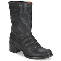 鞋子 女士 短筒靴 Espace DORPIN 黑色