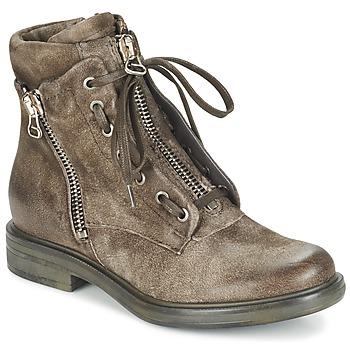 鞋子 女士 短靴 Mjus CAFE 灰褐色