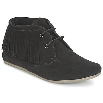 鞋子 女士 短筒靴 Maruti MIMOSA 黑色