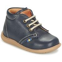 鞋子 男孩 短筒靴 Kavat HAMMAR LACE 蓝色