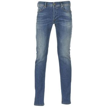 衣服 男士 牛仔铅笔裤 Diesel 迪赛尔 SLEENKER 蓝色 / 0855Q