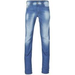 衣服 男士 紧身牛仔裤 Diesel 迪赛尔 THAVAR 蓝色 /  0855g
