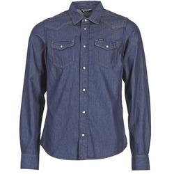 衣服 男士 长袖衬衫 Diesel 迪赛尔 NEW SONORA 蓝色