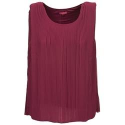 衣服 女士 無領短袖套衫/無袖T恤 Bensimon REINE 李子色