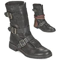 鞋子 女士 短筒靴 Felmini CREPONA 黑色
