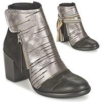 鞋子 女士 短靴 Felmini CARMEN 黑色 / 银灰色