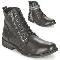 鞋子 女士 短筒靴 Felmini BEJA 黑色