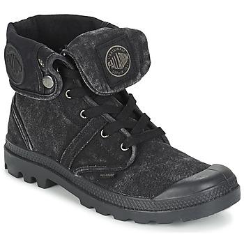 鞋子 男士 短筒靴 Palladium 帕拉丁 US BAGGY 黑色 / Métallique