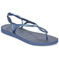 鞋子 女士 人字拖 Havaianas 哈瓦那 LUNA 藍色 / 海藍色