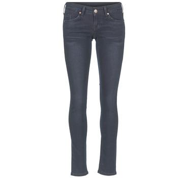 衣服 女士 紧身牛仔裤 Mustang GINA 蓝色 / 黑色